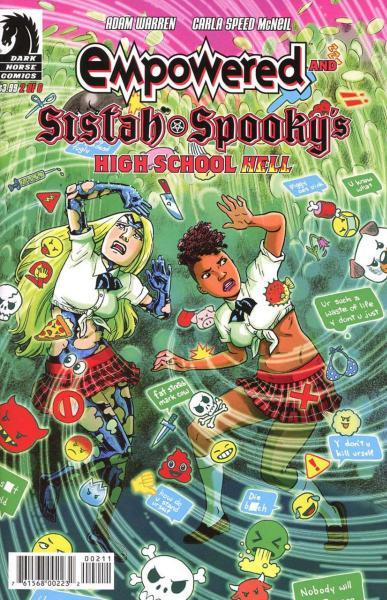 Empowered and Sistah Spooky's High School Hell 2 Issue #2