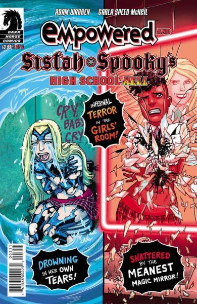 Empowered and Sistah Spooky's High School Hell 3 Issue #3