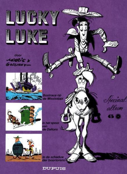 Lucky Luke (Dupuis) INT I6 Speciaal album 6