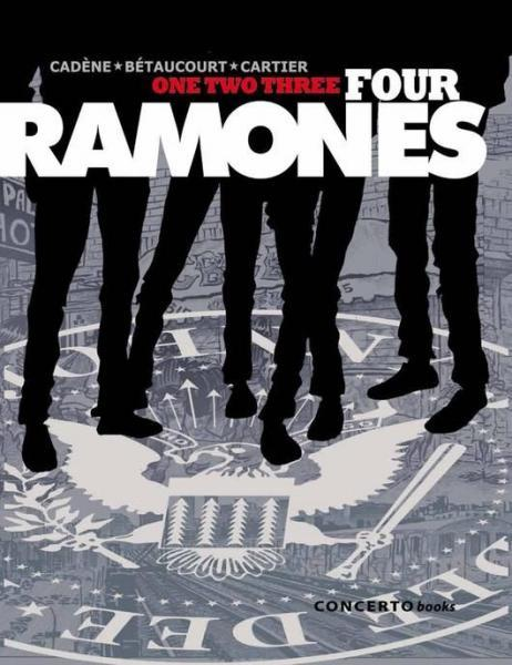 One, two, three, four, Ramones! 1 One, two, three, four, Ramones!