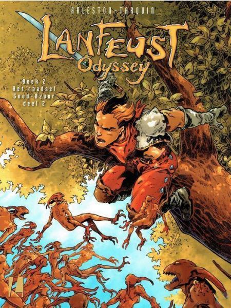 Lanfeust odyssey 2 Het raadsel Goud-Azuur - Boek 2