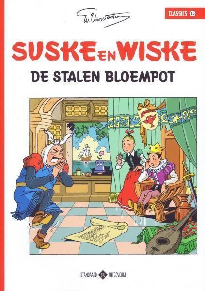 Suske en Wiske classics 15 De stalen bloempot