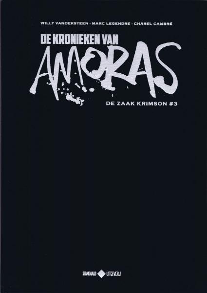 De kronieken van Amoras 3 De zaak Krimson #3