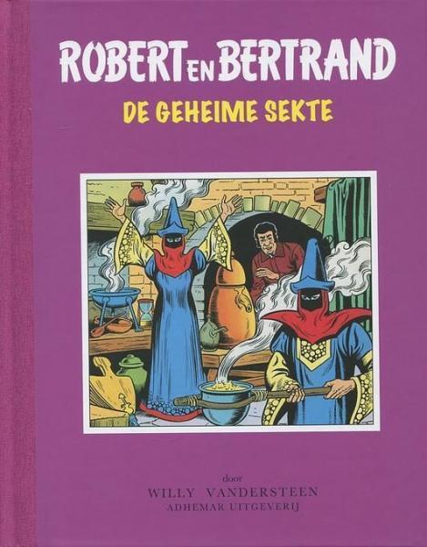 Robert en Bertrand 33 De geheime sekte