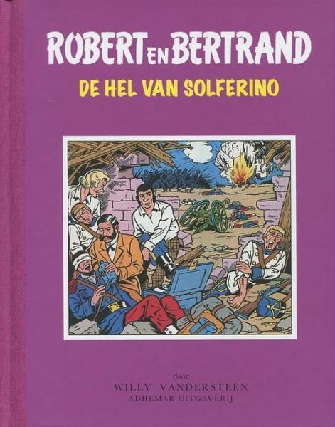 Robert en Bertrand 35 De hel van Solferino