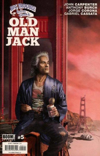 Big Trouble in Little China: Old Man Jack 5 Issue #5