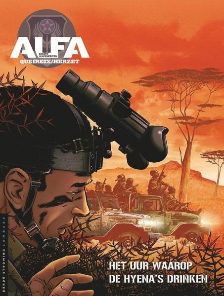 Alfa: Eerste wapenfeiten 5 Het uur waarop de hyena's drinken