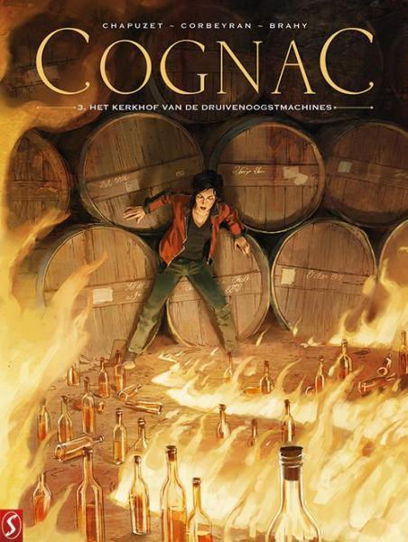 Cognac 3 Het kerkhof van druivenoogstmachines