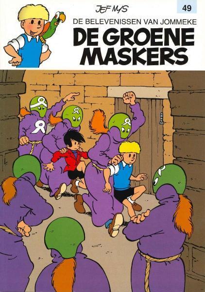 Jommeke 49 De groene maskers
