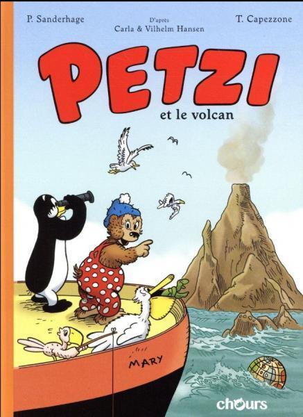 Petzi (Chours) 1 Petzi et le volcan