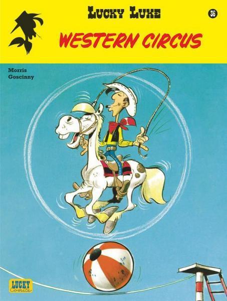 Lucky Luke (Lucky Comics, hernummering) 36 Western circus