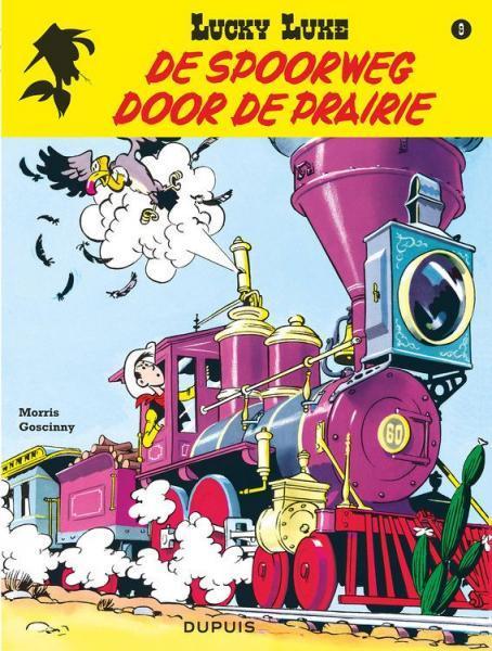 Lucky Luke (Lucky Comics, hernummering) 9 De spoorweg door de prairie