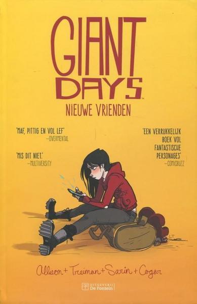 Giant Days (De Fontein) 1 Nieuwe vrienden