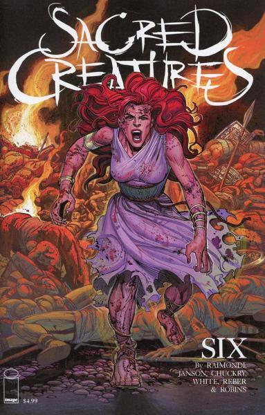 Sacred Creatures 6 Issue #6