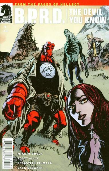 B.P.R.D.: The Devil You Know 6 Issue #6