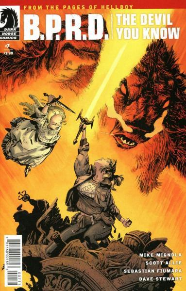 B.P.R.D.: The Devil You Know 7 Issue #7