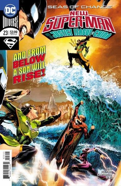 New Super-Man & the Justice League of China 23 Seas of Change, Part 4