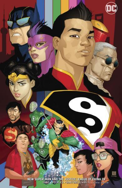 New Super-Man & the Justice League of China 24 All Good Things...