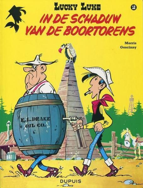 Lucky Luke (Lucky Comics, hernummering) 18 In de schaduw van de boortorens