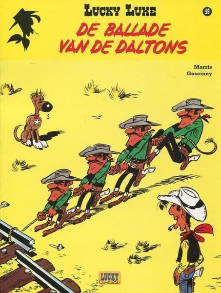 Lucky Luke (Lucky Comics, hernummering) 49 De ballade van de Daltons