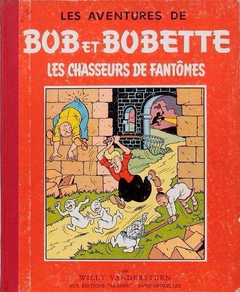 Bob et Bobette (oude Franse nummering) 20 Les chasseurs de fantômes
