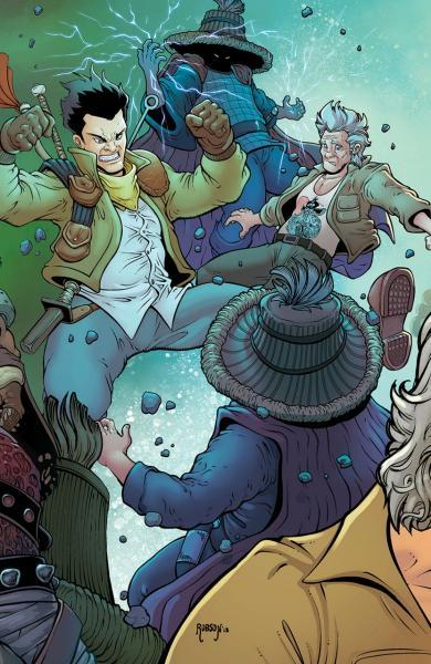 Big Trouble in Little China: Old Man Jack 11 Issue #11