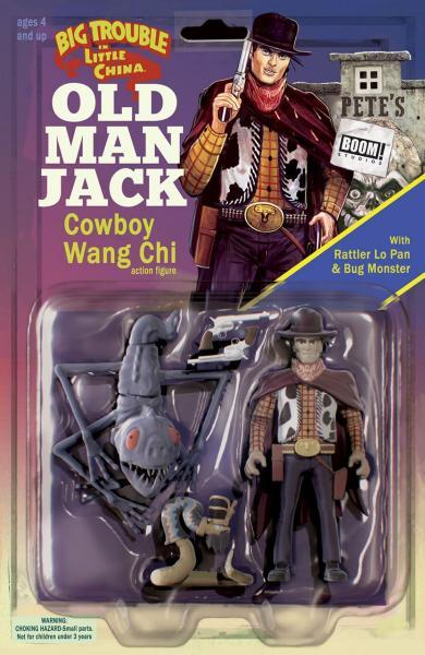 Big Trouble in Little China: Old Man Jack 12 Issue #12