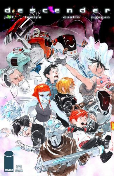 Descender 32 The End of the Universe, Part 4