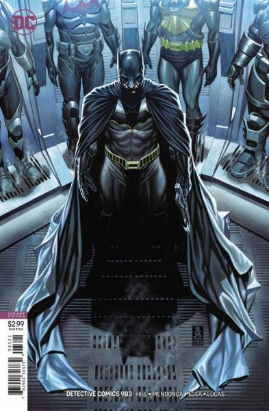 Detective Comics B983 On the Outside, Part 1