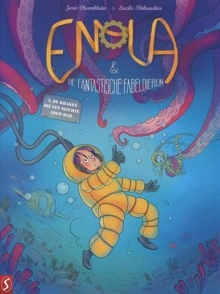 Enola & de fantastische fabeldieren 3 De kraken die een slechte adem had