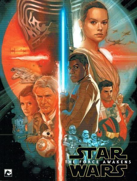 Star Wars Remastered Filmboek 7 The Force Awakens