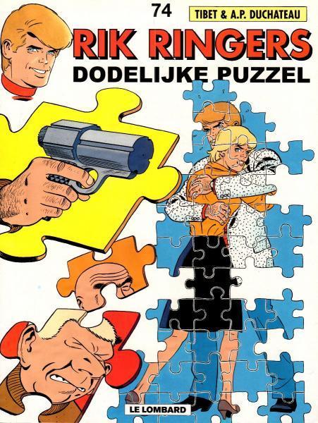 Rik Ringers 74 Dodelijke puzzel