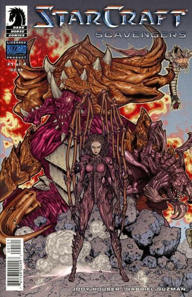 Starcraft: Scavengers 1 Issue #1