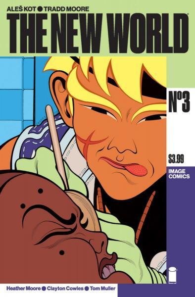 The New World 3 Issue #3