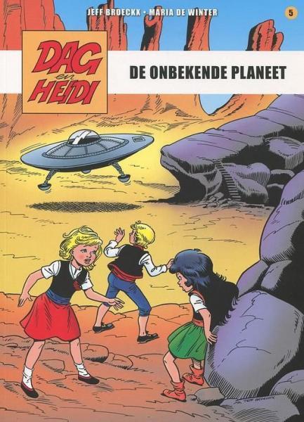Dag en Heidi (Saga Stribbel) A5 De onbekende planeet