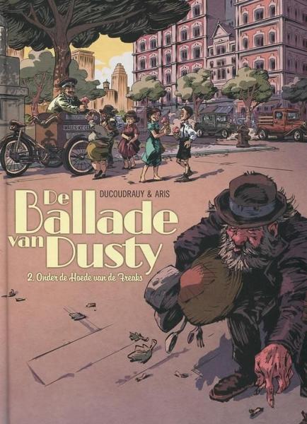 De ballade van Dusty 2 Onder de hoede van de freaks