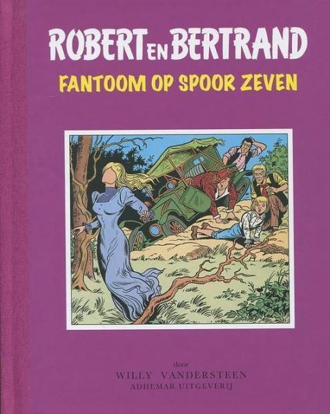 Robert en Bertrand 39 Fantoom op spoor zeven