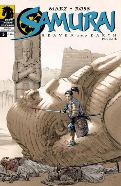 Samurai: Heaven & Earth A5 Issue #5