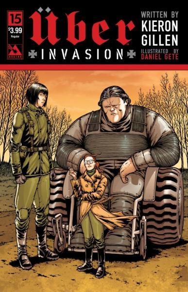 Uber: Invasion 15 Issue #15