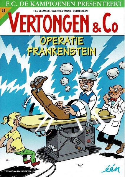 Vertongen en Co 25 Operatie Frankenstein