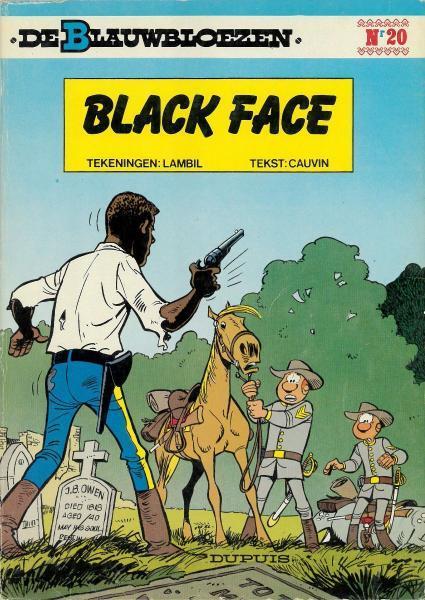 De Blauwbloezen 20 Black Face
