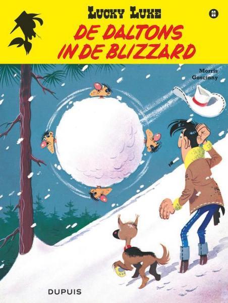 Lucky Luke (Lucky Comics, hernummering) 22 De Daltons in de blizzard