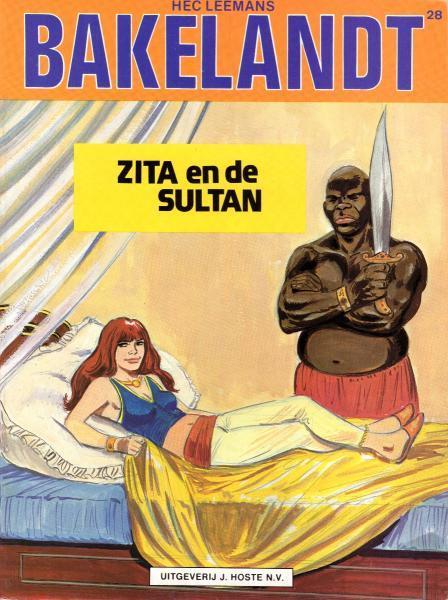 Bakelandt 28 Zita en de sultan