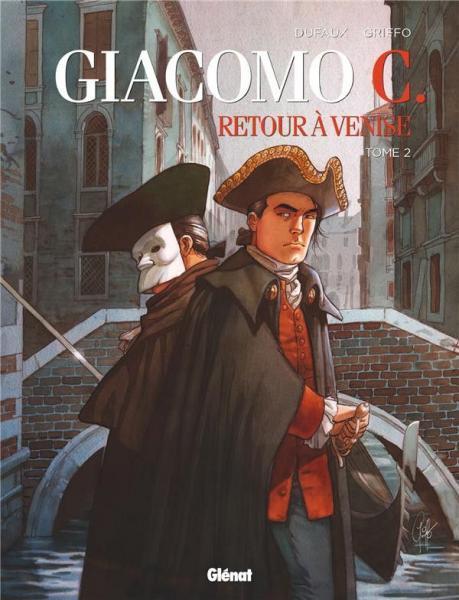 Giacomo C. - Terug naar Venetië 2 Tome 2