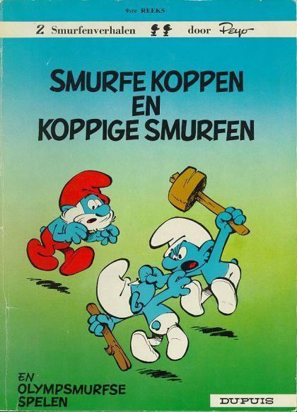 De Smurfen 9 Smurfe koppen en koppige Smurfen