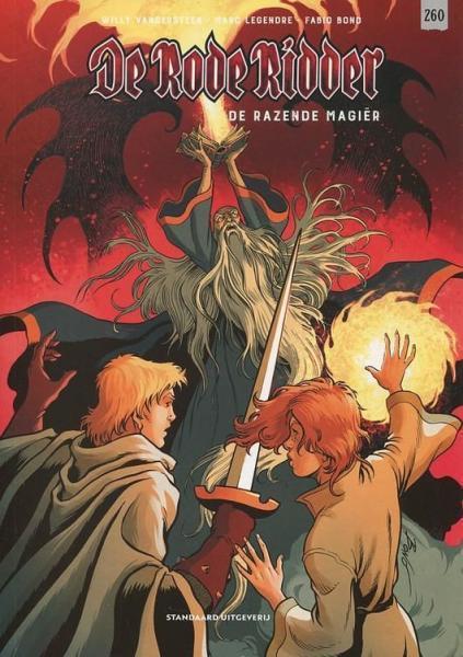 De Rode Ridder 260 De razende magiër