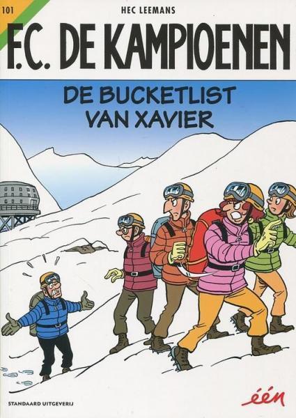 F.C. De Kampioenen 101 De bucketlist van Xavier