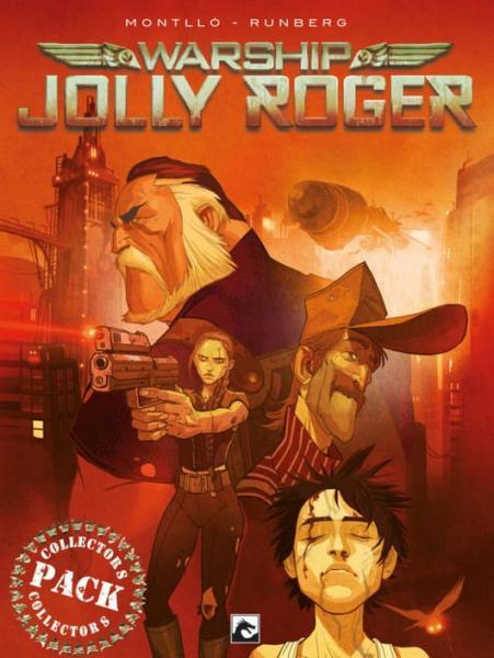 Warship Jolly Roger INT 1 Collectors pack, delen 1-4
