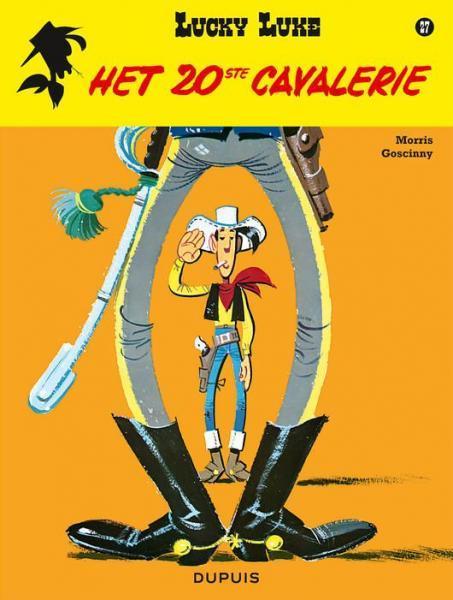 Lucky Luke (Lucky Comics, hernummering) 27 Het 20ste cavalerie