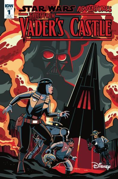 Star Wars Adventures: Tales from Vader's Castle 1 The Haunting of the Ghost